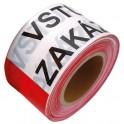 Varovacia páska 250M ZÁKAZ VSTUPU, SK