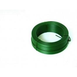 Napínací drát 2.6mmx52M zelený PVC