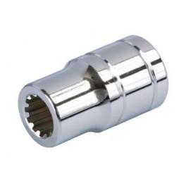"Hlavice Multilock 1/4"" 12mm L25mm"