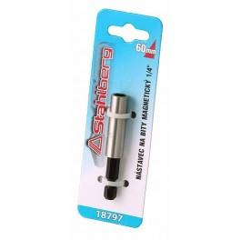"""Nást.na bity magnet.1/4"""" 60mm"""