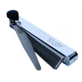 Sada spárové měrky 0.05-1mm 20listů